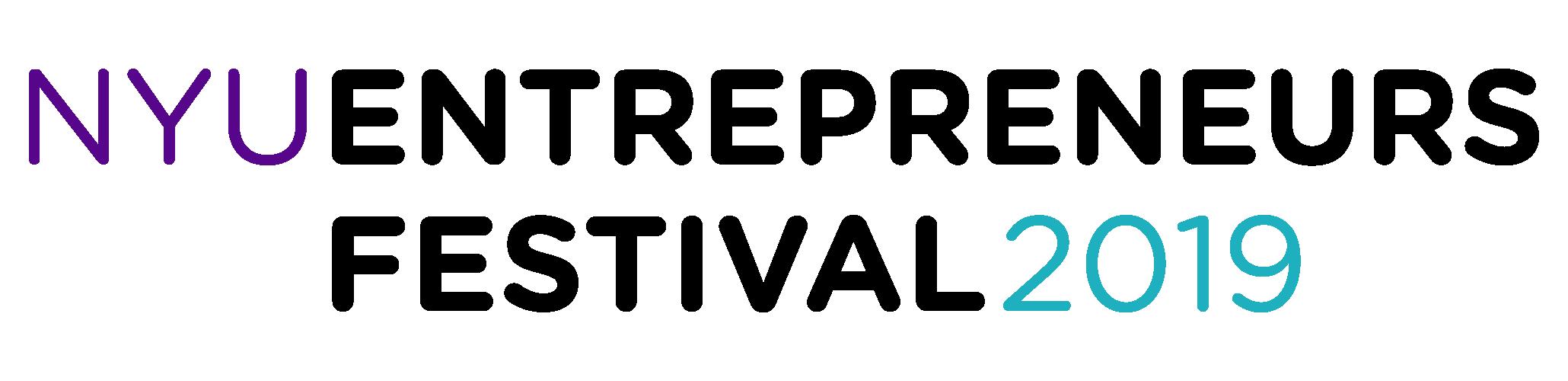 NYU Entrepreneurs Festival Logo
