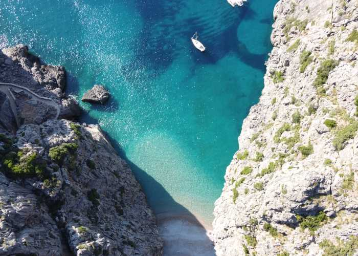 Sa Calobra Mallorca, Spanien