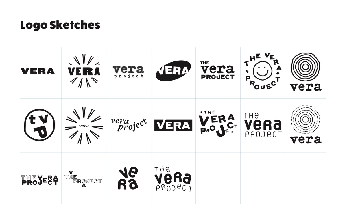 Logo iterations, vector'd.