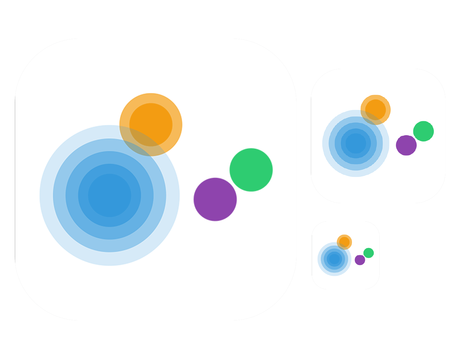 .link: Logo for a dots connecting puzzle game
