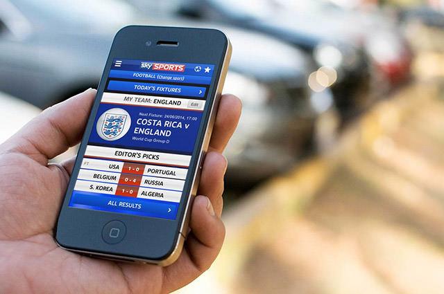 Sky Sports Score Centre App