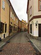 Near my hotel in central Vilnius.  Vilnius, Lithuania, 2017