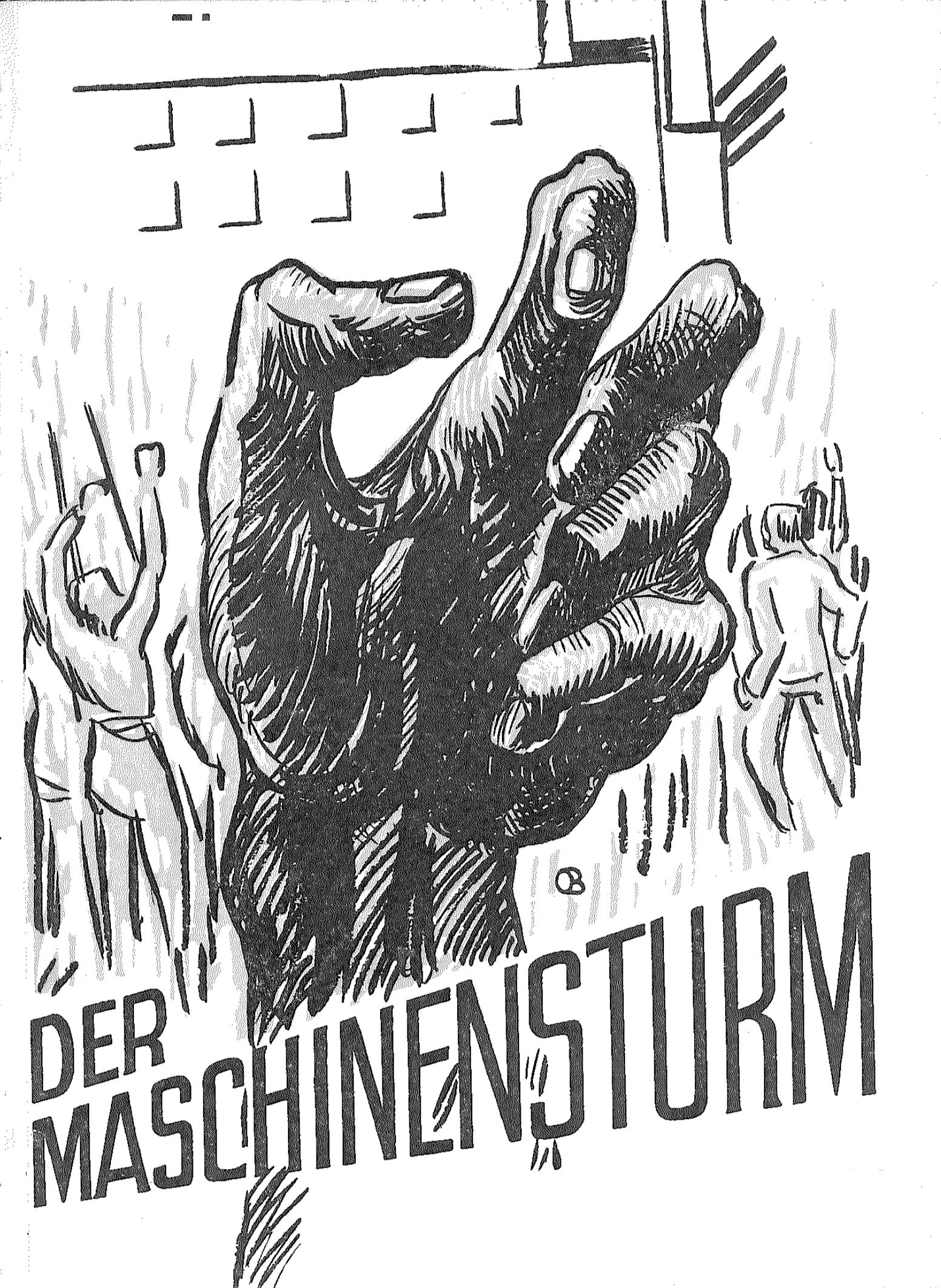 Maschinensturm, ca. 1980