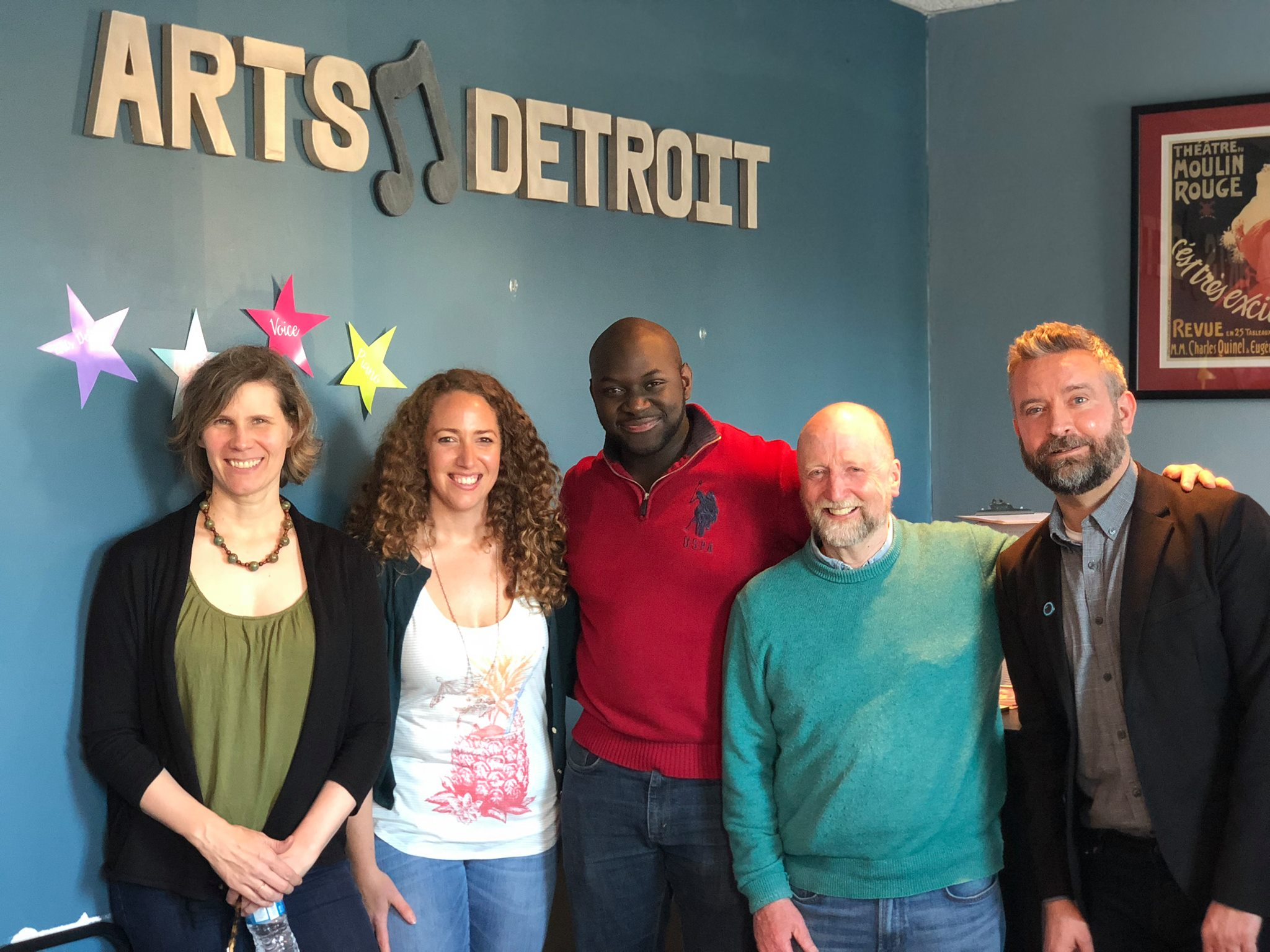 Photo of 2018 Detroit New Works Festival playwrights.