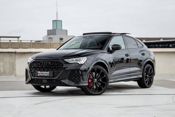 "Audi RSQ3 Sportback TFSI 400PK    Pano.dak   Carbon interieur/exterieur pakket   21""velgen   B&O Sound   Keyless-Entry   360 Camera   Dynamic Red pakket   Adapt. Cruise   Alcantara   Garantie tot 06-2026*"