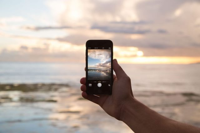 Fotografia com celular