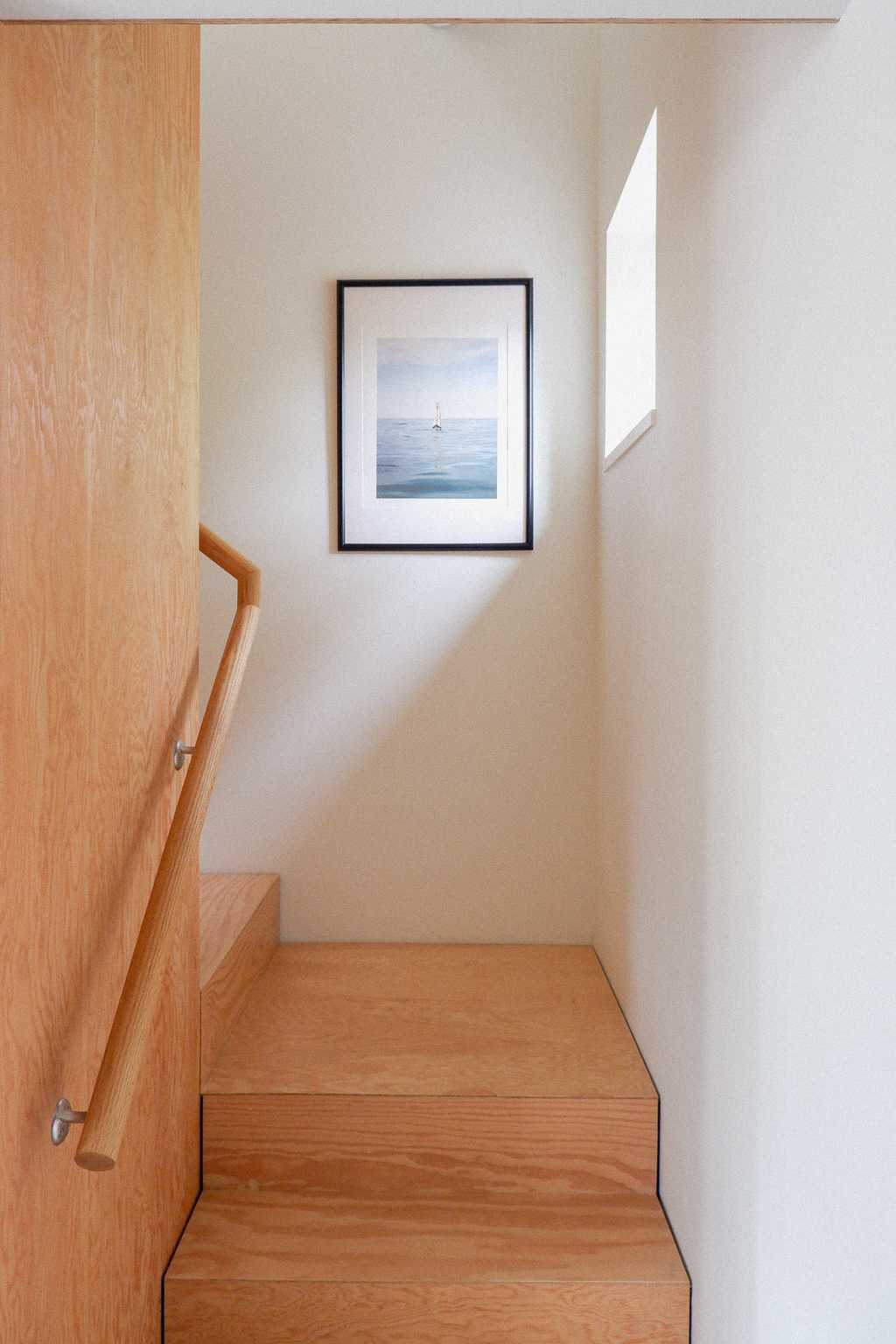 Stairs in Airbnb rental