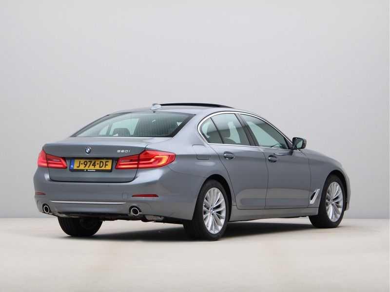 BMW 5 Serie 520i High Exe Luxury Line afbeelding 5