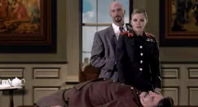 I am the future. Red Alert's final cutscene, Kane and Nadia kill Stalin.