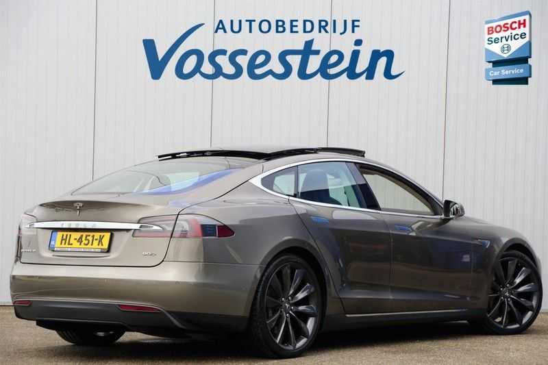 "Tesla Model S 90D Base / 422 PK / Panoramadak / Luchtvering / NL-Auto / 132dkm NAP / 21"" LMV / Leder afbeelding 12"