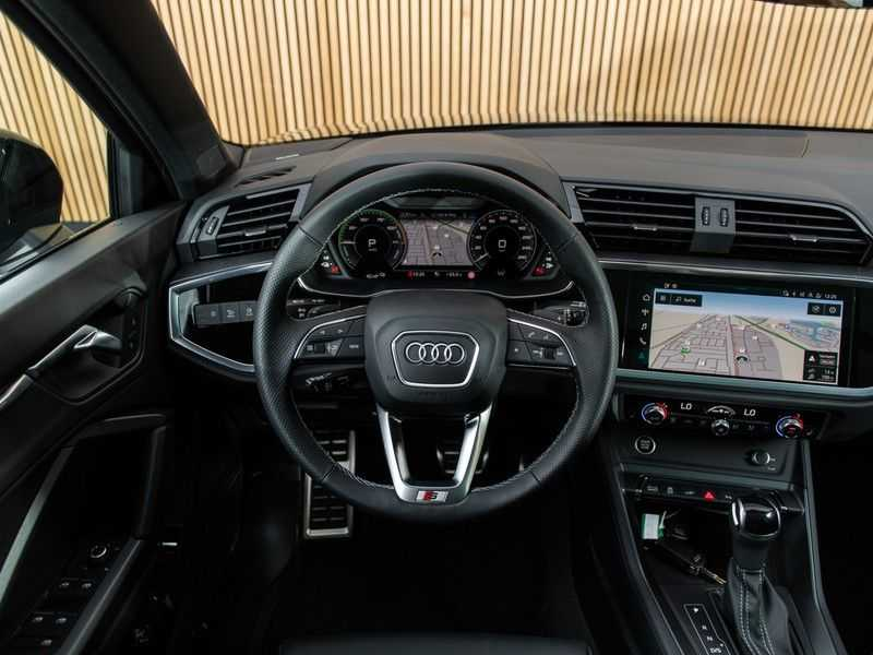 """Audi Q3 45 TFSI e S Edition 20"""", B&O, PANO, LED, B&O, S-LINE afbeelding 23"""