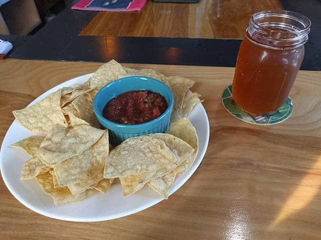 White Mountain Brewing Company food and drink