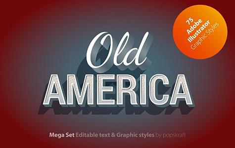 Old America Adobe Illustrator Styles oldamerica_1_cover.jpg