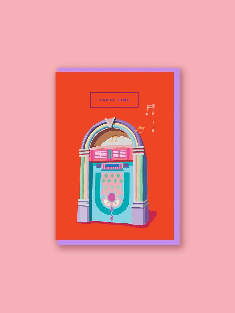 jukebox-party-time-card