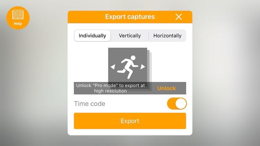 Export Screen