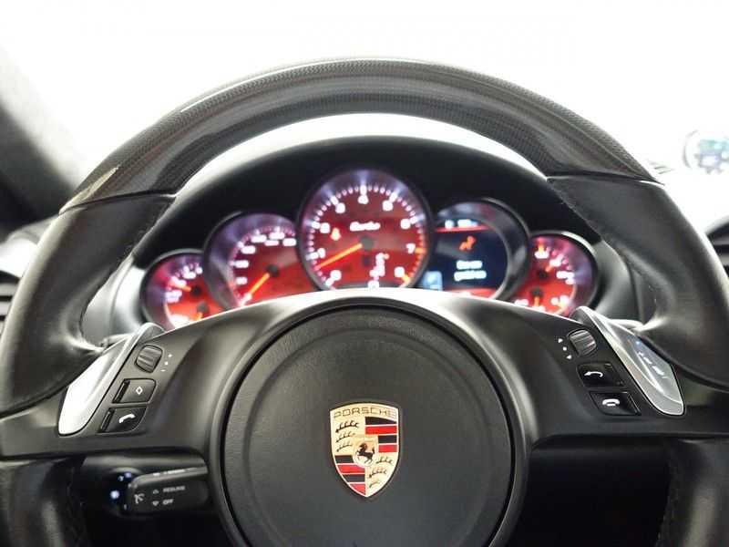 Porsche Cayenne 4.8 Turbo 500pk Designo Tiptr. Aut- Schuifdak, Leer, Sport Chrono, Akrapovic afbeelding 4