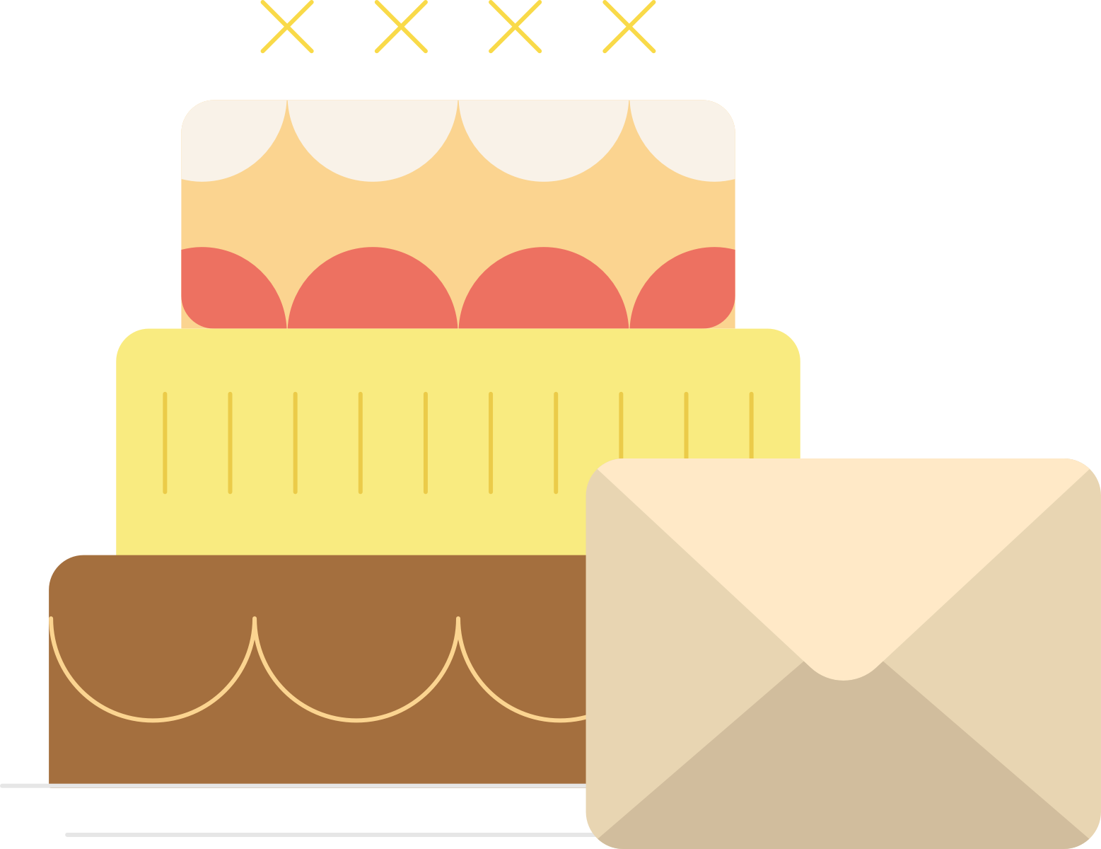 Cake and Mail