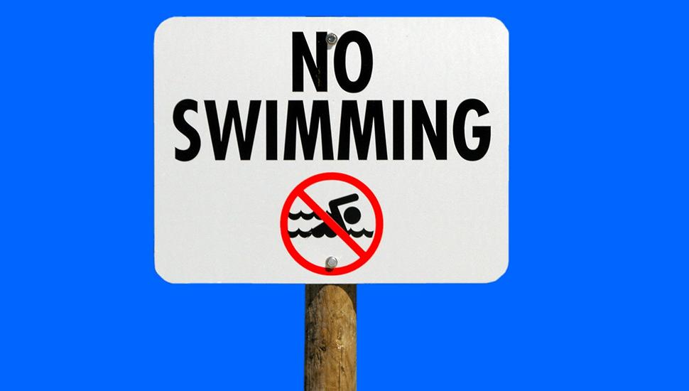 4 farliga badplatser du vill undvika!