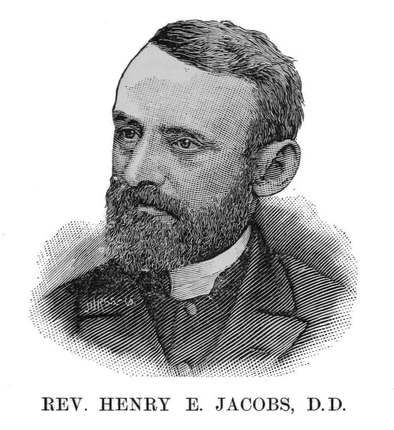 Henry Eyster Jacobs