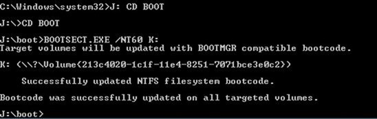 Disk Booted