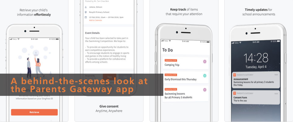 A behind-the-scenes look at the Parents Gateway app