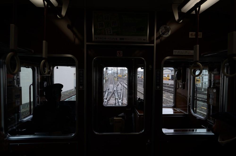 Вид из кабины на дорожные пути. Фото: Taesang Im / Unsplash