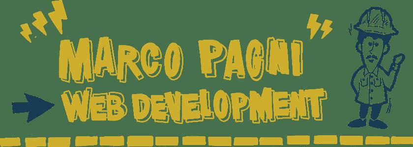 Marco Pagni - Hero Desktop