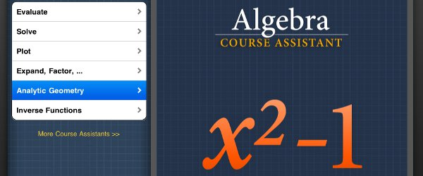 wolfram course assistant app algebra