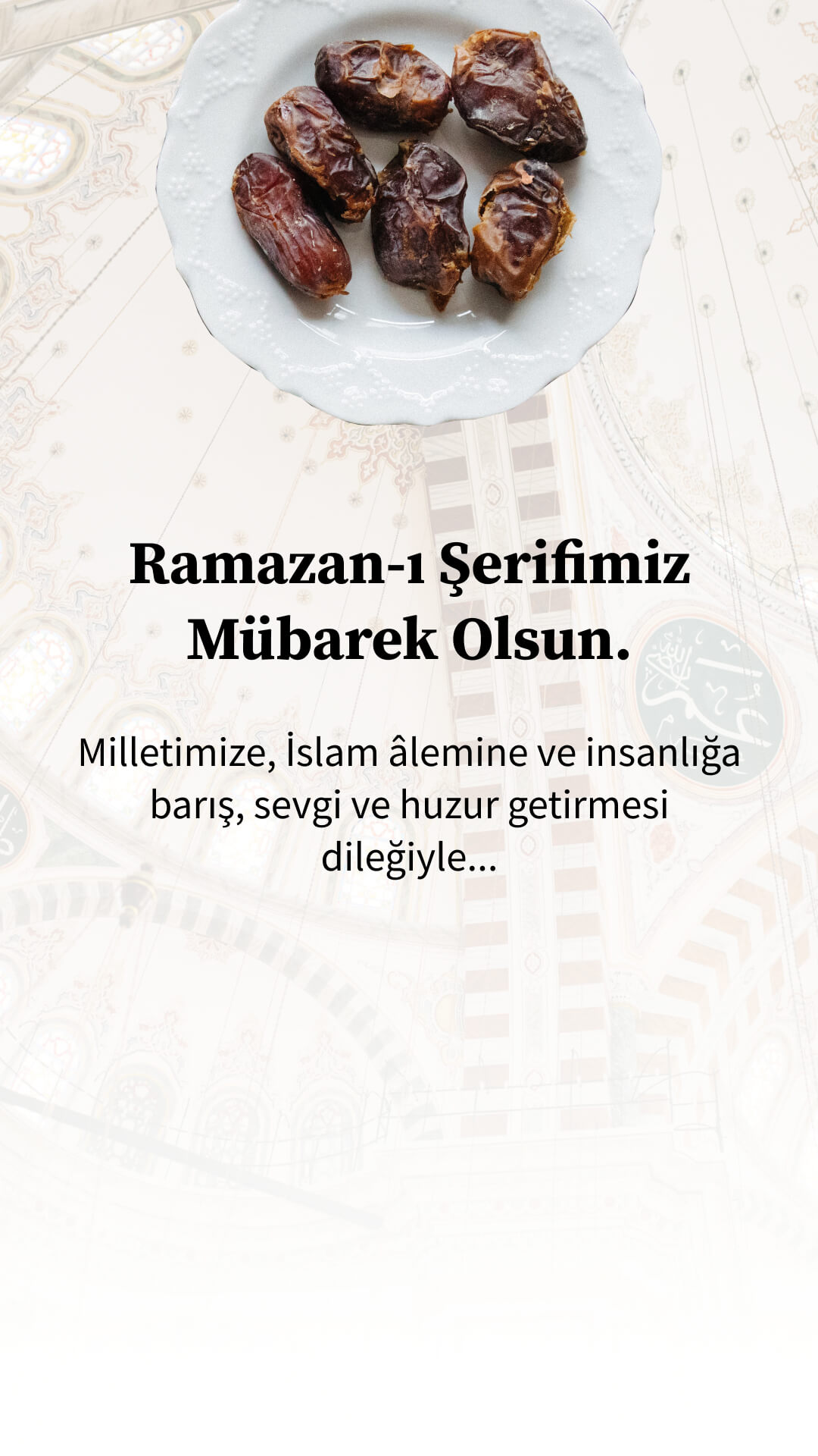 Ramazan-i şerifimiz mübarek olsun