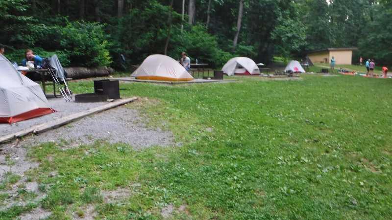Dahlgren Backpacker Campground