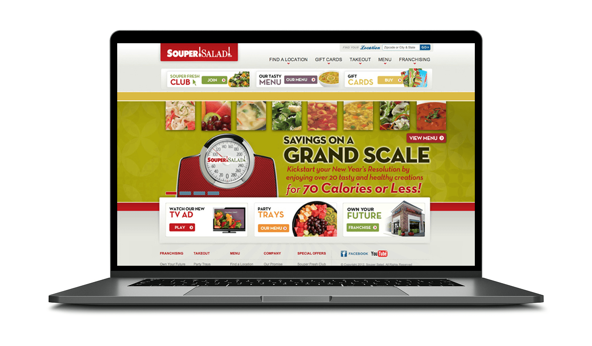 Souper Salad Website