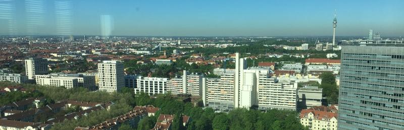 Ausblick IBM Tower UnternehmerTUM München