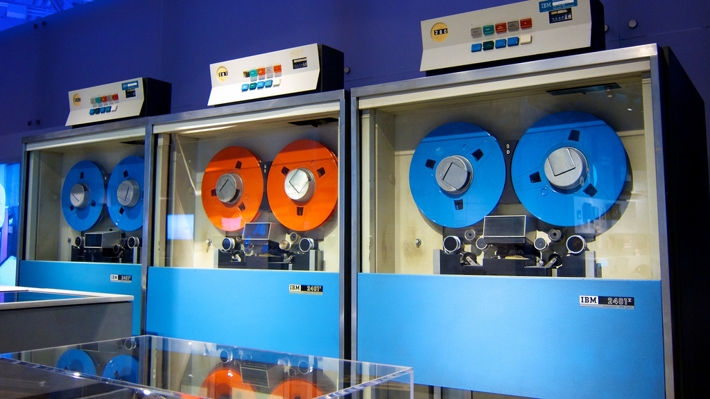 Colorful Tape Drives