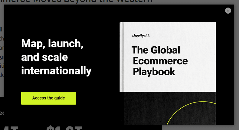 Shopify plus example