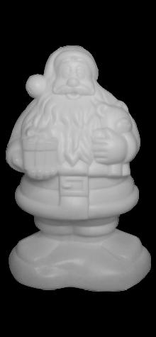 Unpainted Santa photo