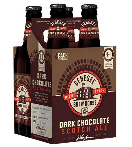 Genesee Dark Chocolate Scotch Ale can