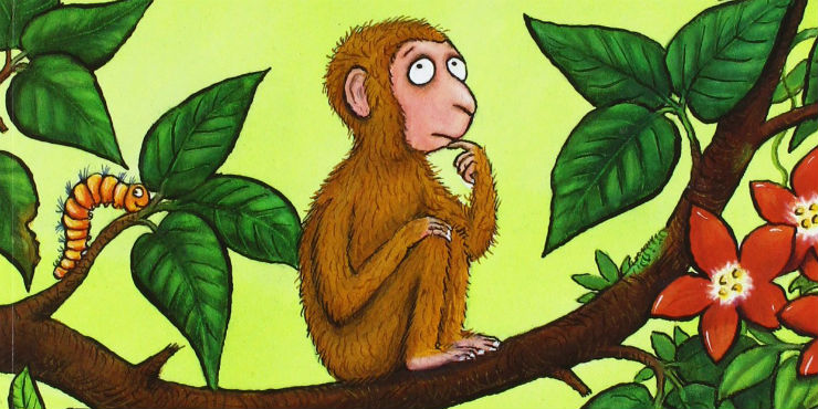 Monkey puzzle by Julia Donaldson and Axel Scheffler