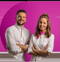 Die Gründer: Nina Julie und Michael