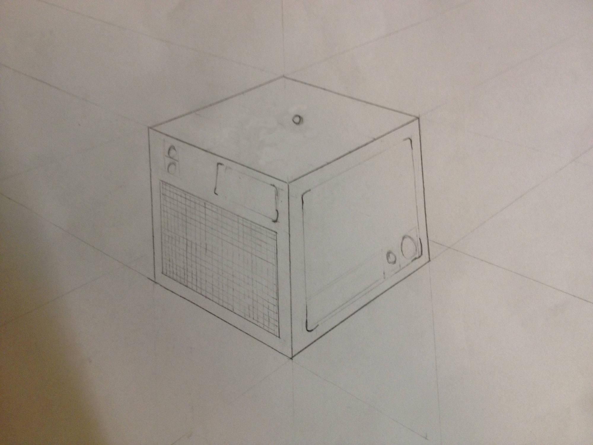 Persepective sketch