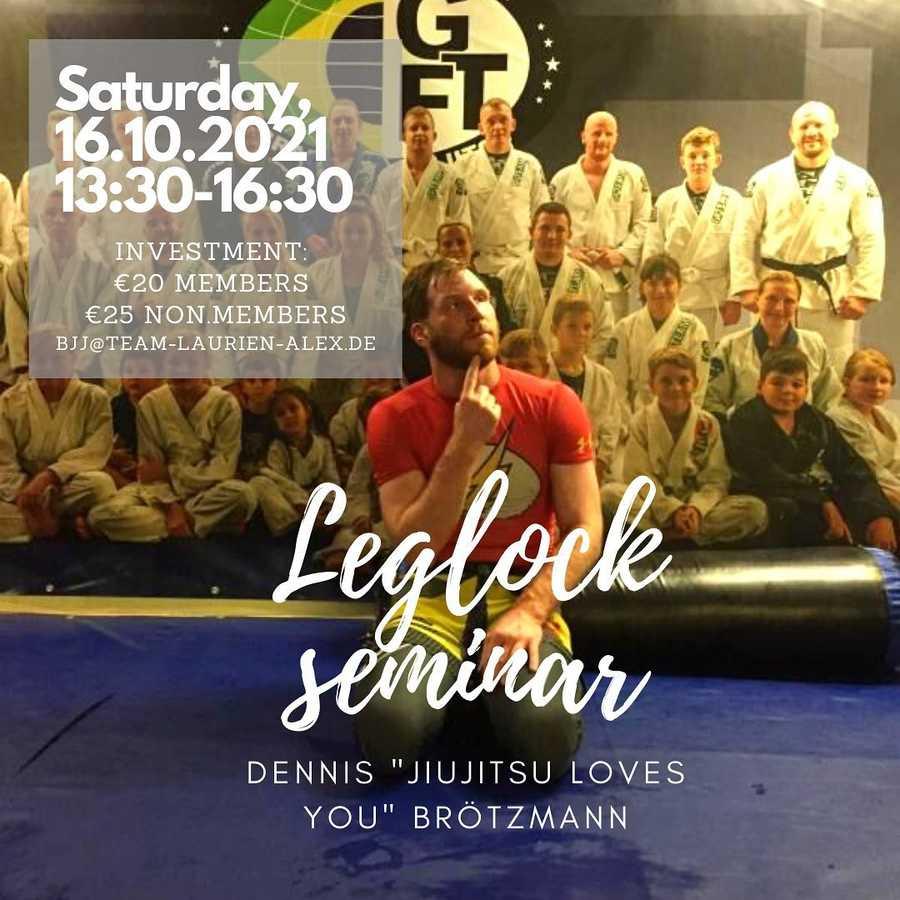 Leg-lock Seminar mit Dennis - Jiu Jitsu Loves You