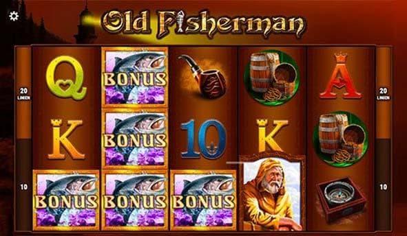old fisherman freispiel screenshot