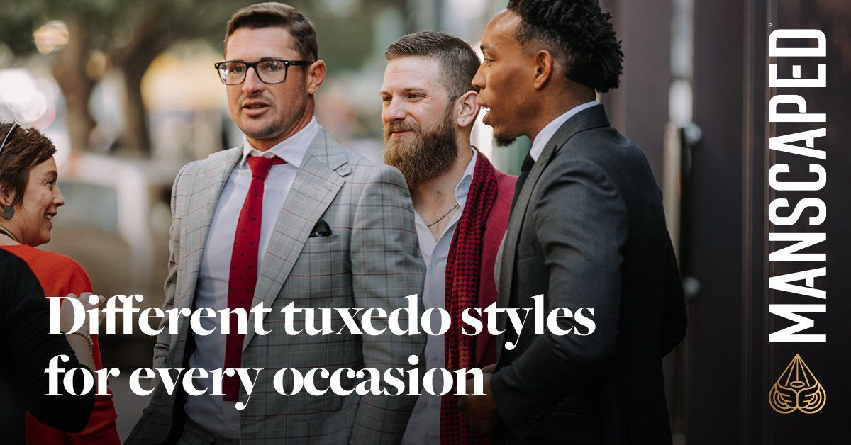 Types of Tuxedos - Different Tuxedo Styles for Every Occasion