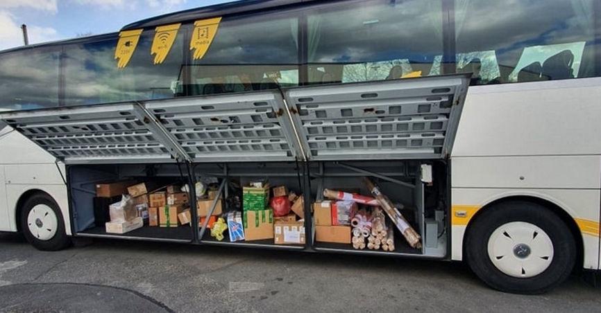 Pristatymas su autobusų siuntomis