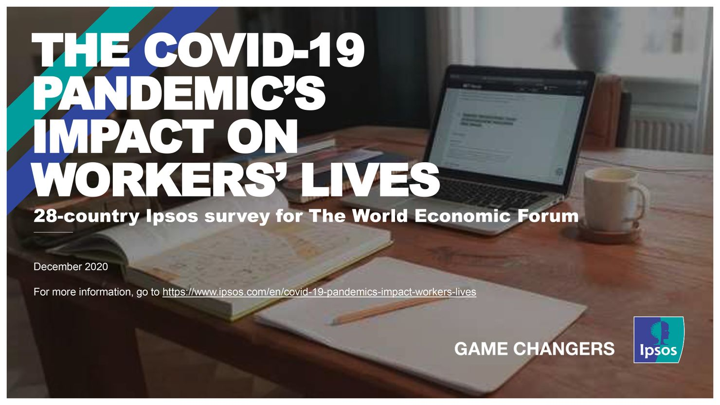 cover of the survey report by ipsos for world economic forum