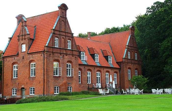 Skoent slot i oestjylland