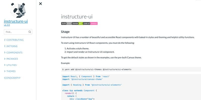Instructure UI