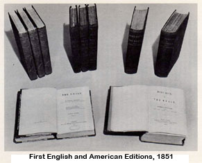 First English and American Editions, 1851