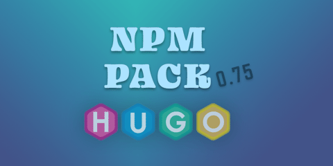Featured Image for NPM Pack