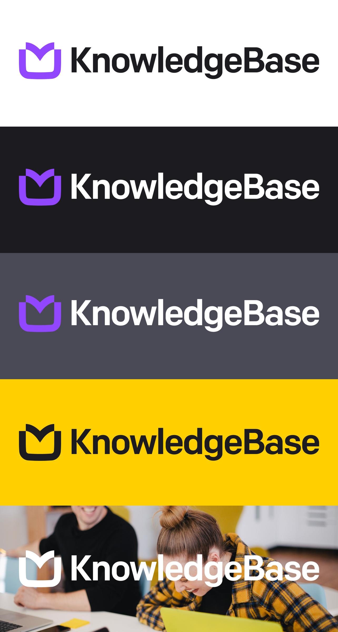 KnowledgeBase logo background usage