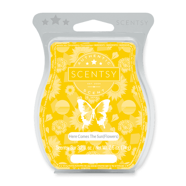 Picture of Here Comes the Sun(flowers) Scentsy Bar